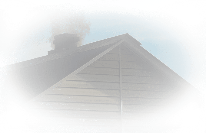 image of a roof where bats are entering a homes attic